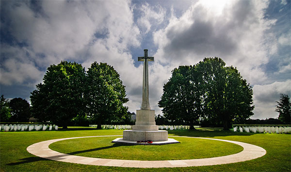 British War Cemetry  •  Bayeux  •  Calvados