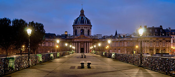 Institut de France vu du Pont des Arts  •  Paris 6ème