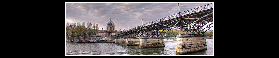 Pont des Arts  •  Institut de France  •  Paris 6ème