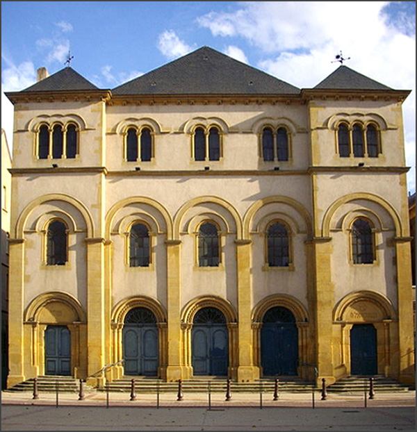 Synagogue • Metz • Moselle